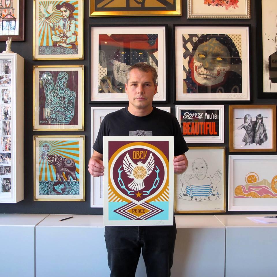 Shepard Fairey: Marketing Guerrilla