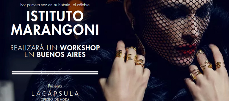Future Style Strategies 17/10: el primer workshop del Instituto Marangoni en Buenos Aires