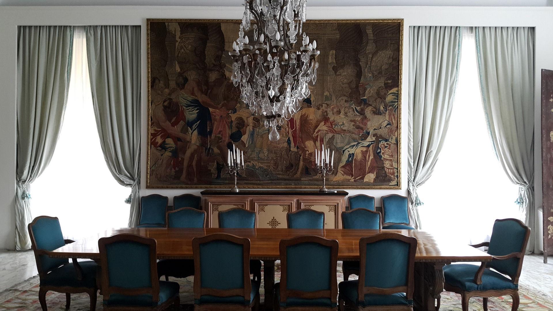 Una visita a la Residencia del Embajador de Uruguay en Buenos Aires.