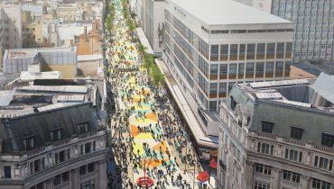 ¿Oxford Street peatonal? La iniciativa de la alcaldía de Londres genera debates pero avanza a paso firme.