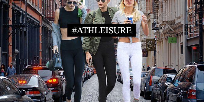 """""""Athleisure"""":  la tendencia que predomina en pasarelas y streetstyle."""