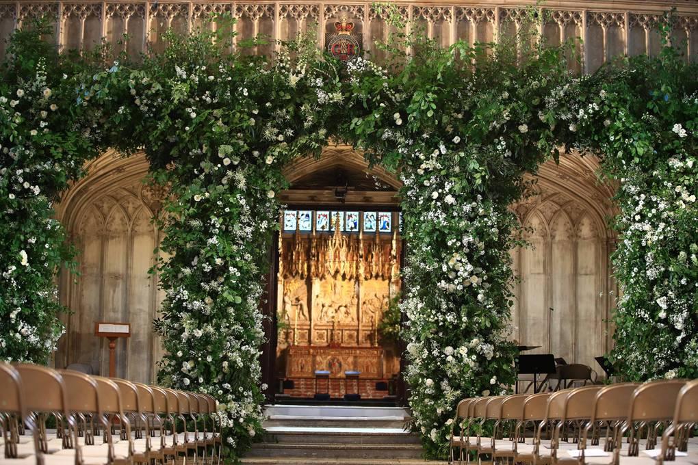 Philippa Craddock, la florista de la boda real de Harry y Meghan Markle.