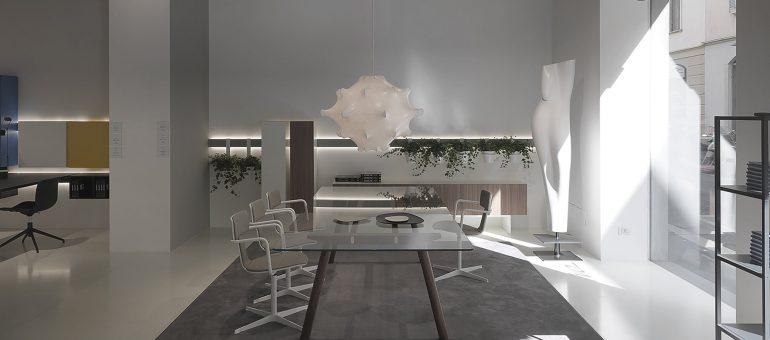Tecnomadera recibe al CEO de la firma DVO S.P.A en su renovado showroom