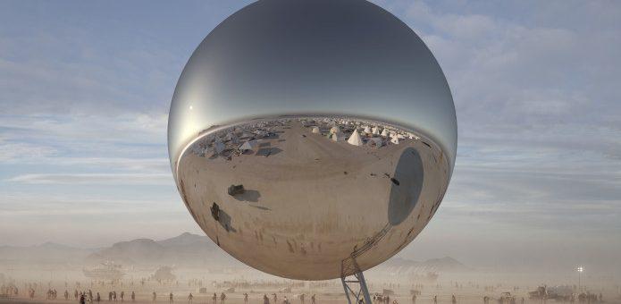 Bjarke Ingels y Jakob Lange lanzan crowdfunding para construir esfera en Burning Man 2018